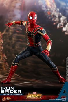 """Hot Toys have announced a new Avengers: Infinity War – scale Iron Spider figure is coming out in Here are the details: """"Oh, we're [. Marvel Comics Superheroes, Disney Marvel, Marvel Memes, Marvel Cinematic, Marvel Avengers, Spiderman Marvel, Amazing Spiderman, Hot Toys Spiderman, Spiderman Spider"""