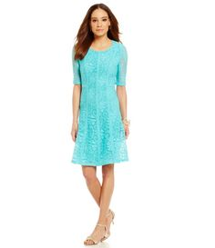 2c11c3e09c5 Spring lace dress   perfect for a wedding   brunch