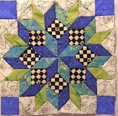 Inklingo Projects: Hybrid-pieced star using LeMoyne Star collection. Inklingo Projects: Hybrid-pieced star - Love the look by fabrics chosen. Martha made this one using the LeMoyne Star collection. She writes : Stayed up past my bedtime and finished this Star Quilt Blocks, Star Quilt Patterns, Star Quilts, Mini Quilts, Pattern Blocks, Quilting Projects, Quilting Designs, Pintura Country, Quilt Tutorials
