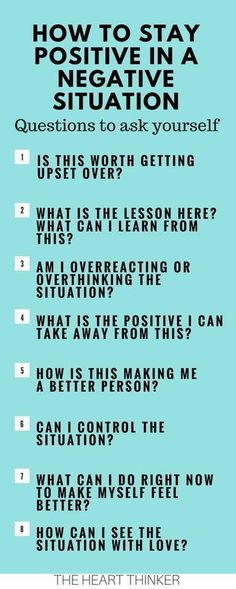 How to stay positive in tough situations. #positivity #mindset #anxiety