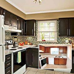 Cheap kitchen makeover...love the budget saver ideas to spice up the kitchen