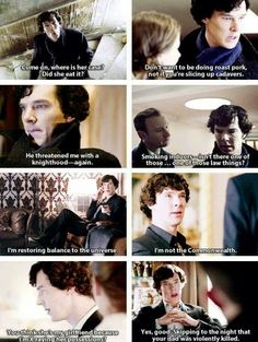 Some Sherlock quotes