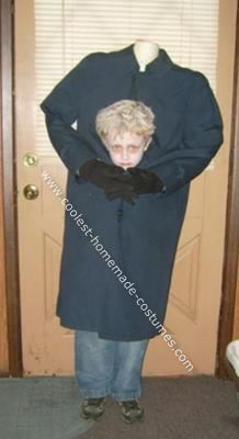 Homemade Headless Boy Costume: My son wanted to be headless this year and I actually got the idea for a Homemade Headless Boy Costume from this site. I used lots of bubble wrap to keep