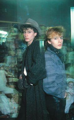 John Taylor and  Nick Rhodes - Duran Duran.