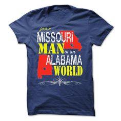 Missouri Man In An ③ Alabama WorldAlabama, Missouri