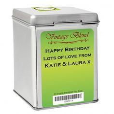 Green Vintage Tea & Tin | Tea Tins | Exclusively Personal