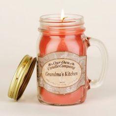 Grandma's Kitchen Mason Jar Candle   Kirklands