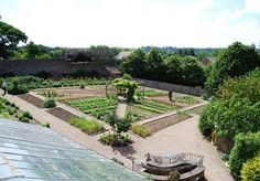 Kitchen gardens and greenhouse