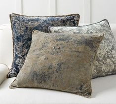 Find throw and accent pillows from Pottery Barn to easily update your space. Shop our pillow collection to find decorative pillows in classic styles, prints and colors. Coral Pillows, Velvet Pillows, Accent Pillows, Pottery Barn Pillows, Linen Comforter, Feather Pillows, Pillow Texture, Bedding Basics, Decorative Pillow Covers