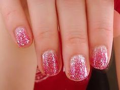 I'm going to try to get a fancy schmancy manicure for Christmas. Like this, but with gold and silver glitter.