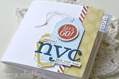Explore NYC Mini Book by Amy Sheffer for Papertrey Ink (July 2016)