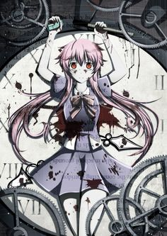 The Future Diary: Gasai Yuno.