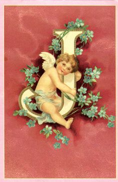 postcard - it 208356 - angel - letter j | Flickr - Photo Sharing!
