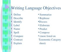 content objectives vs. language objectives - Google Search ...