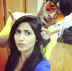 Sajal ali with her bf feroz khan