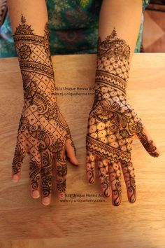 The designer behind NJ unique henna art is Nadra Jiffry. She is expert in different art of henna. Every design of her is different and unique from previous. She provides henna art services Toronto, Ontario for different occasional.