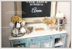Fall Dining Room 2014