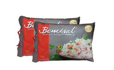 Rs 360 for Bemisal Basmati Rice 5kg and Rs 699 for Bemisal Basmati Rice (5kg x 2). Valid across all SRS Value Bazaar outlets.