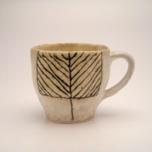 I want to drink coffee from this sweet mug! by emily schroeder