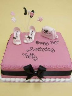 Pretty and Pink Birthday Cake!