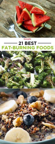 21 Best Fat Burning Foods