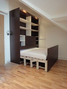 Concealed Beds, Sofa bed alternative in London from the concealed bed company