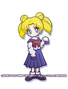 Sailor Chibi Moon, Sailor Saturn, Sailor Moon Character, Princess Serenity, Cute Cartoon Drawings, 2d Character, Sailor Moon Crystal, Magical Girl, Smurfs