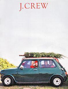 Christmas: vintage J Crew