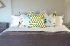 Contemporary Interior Design - Johannesburg Interior Designers - Nowadays Interiors - Wood - Blue - Tranquil Contemporary Interior Design, Decoration, Bed Pillows, Pillow Cases, Wood, Eagle, Designers, House, Interiors