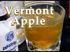 The Vermont Apple is a fairly new cocktail. Made with Absolut Orient Apple, maple syrup, lemon zest, and bitters, it's a modern classic that tastes like a maple flavored apple pie.