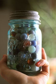Always Keep Marbles On Hand by The Noisy Plume, via Flickr