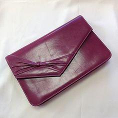 Vintage Leather Pink Jaques Vert Bag