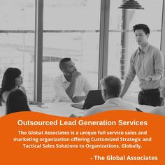 The Global Associates is a unique full service sales and marketing organization offering Customized Strategic and Tactical Sales Solutions to Organizations, Globally. #leadgeneration #leadgenerationservices #b2bsales #b2bleadgeneration #outsourcedleadgenerationservices