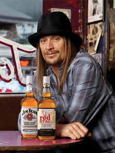 """ So said Kid Rock during a keynote Q&A session alongside Billboard editorial director Bill Werde today in [. Kid Rock Picture, Rock Videos, Bob Seger, Jim Beam, Bruce Springsteen, Foto E Video, Beams, Rock And Roll, My Favorite Things"