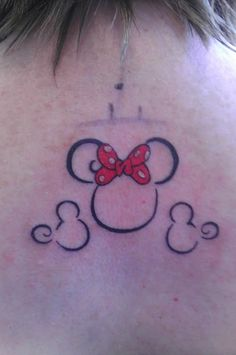 Disney Tattoos - Page 191 - The DIS Discussion Forums - DISboards.com How cute would it be to get a tattoo like this, but one for each member of your family? AHH!