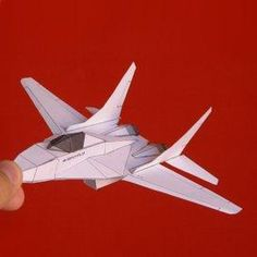 Paper Mig 29 White