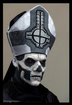 Ghost - Papa Emeritus II - Hellfest 2013 by Wild-Huntress on DeviantArt