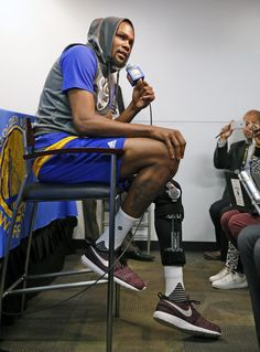 "Kevin Durant on knee injury: 'It is what it is'  For about 30 minutes last Wednesday morning, Kevin Durant thought his season was over.  ""Then I got a call that said (his knee injury) wasn't as bad,"" Durant recalled.  During his first media availability since hyperextending his left knee in the Warriors' loss to Washington last Tuesday, Durant kept perspective.  [...] with at least three weeks until he returns to the court, the eight-time NBA All-Star has simple objectives: be diligent…"