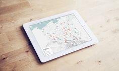 Odcinkowy pomiar – aktualna mapa