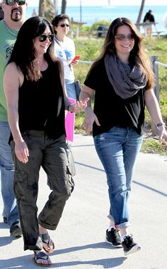 Shannen Doherty & Holly Marie Combs