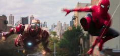 This is Peter Parker's chance to prove himself — and the first thing he has to do is take down the Avengers.  The debut trailer for Spider-Man: Homecoming premiered Thursday during ABC's Jimmy Kimmel Live, presenting an extended look at Tom Holland's inaugural solo outing as Marvel's vaunted web-slinger