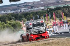 #FIA #ETRC #Jarama #MercedesBenz #Actros #truckracing #dieselpower