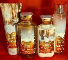 Details about Bath & Body Works Snowflakes & Cashmere Body Lotion, Shower Gel & Fragrance Mist Bath Body Works, Bath And Body Works Perfume, Bath N Body, Body Shower, Shower Gel, Bath And Bodyworks, Fragrance Mist, Body Mist, Body Spray