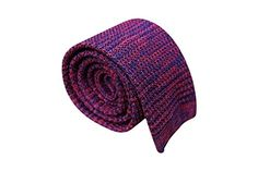 Mule Ties Jubilant Knitted Silk Neck Tie For Men (Squared Bottom) Neckties, Pocket Square, Fashion Brands, Your Style, Beanie, Bows, Silk, Knitting, Stuff To Buy