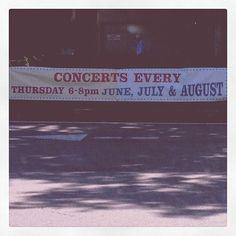 Scenes Around Stuart: Princeton Shopping Center Summer Concert Series