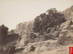 Malabar Hill, Mumbai. 1850s. Today (and then) one of the poshest places to live in what was then called Bombay.