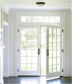 1000 ideas about exterior french doors on pinterest for Marvin ultimate swinging screen door
