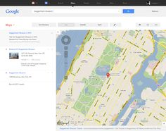 Google Product Redesign by Andy Gugel, via Behance