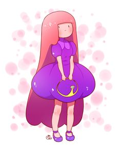 Princess Bubllegum Adventure Time Cartoon, Adventure Time Characters, Disney Characters, Fictional Characters, Live In The Present, Princess Bubblegum, Cute Pins, Pretty And Cute, Character Art