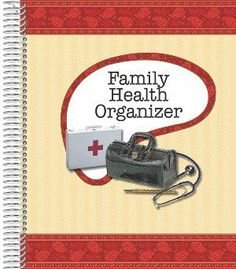 "Family Health Organizer 8""x10"" by Family Health Organizer. $14.00. Vinyl, business-card holder. Measures 8""x10"". Tips sheet.. Space to record immunization and important phone numbers. 14 Pockets to store important family information. 25 pages to write things related to family health. Enough pockets to record 6 family members' medical information. Family Health Organizer is a must have in any household. It contains:  14 Pockets to store important family information  25 p..."